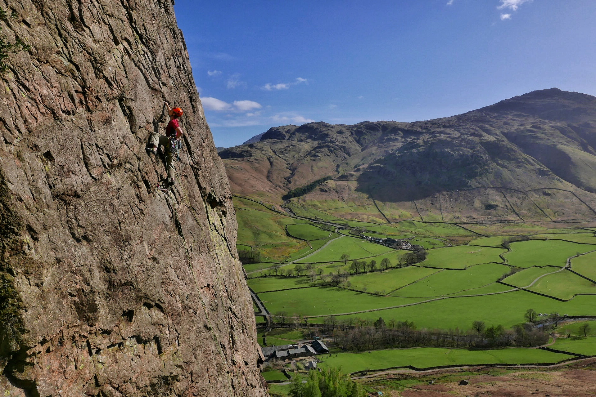 BMG Mountain Guide Training, Raven Crag